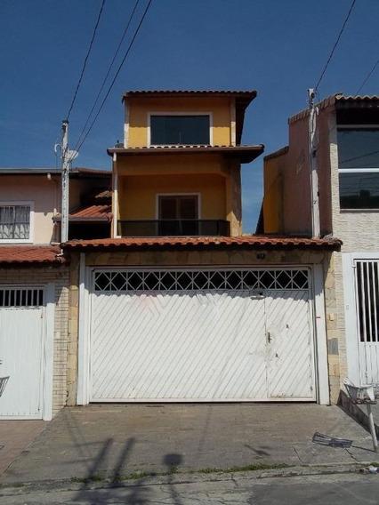 Sobrado Em Parque Continental, Guarulhos/sp De 157m² 4 Quartos À Venda Por R$ 420.000,00 - So505431