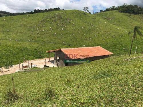 Chácara Com 2 Dormitórios À Venda, 3000 M² Por R$ 150.000,00 - Pouso Alto - Natividade Da Serra/sp - Ch0719