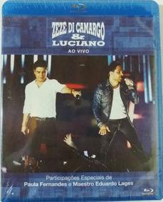 Blu-ray Zezé Di Camargo & Luciano - Ao Vivo [novo Lacrado]