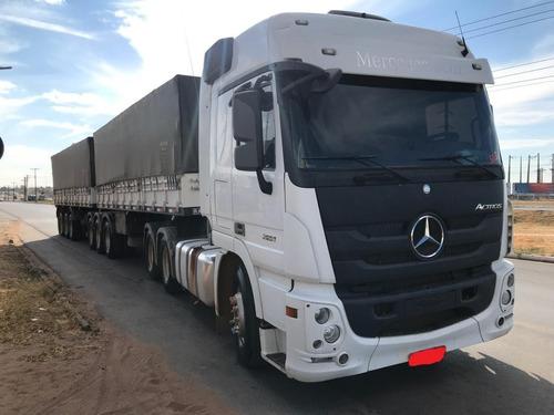 Mercedes-benz Actros 2651 6x4 2016 Engatado Rodotrem Randon