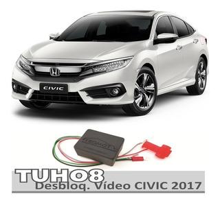 Desbloqueio Central Multimidia Honda Civic 2017 Tuh08 Tromo