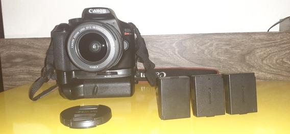 Canon T6 15k Clicks + 18 55mm + Grip 3 Baterias + Acessorios