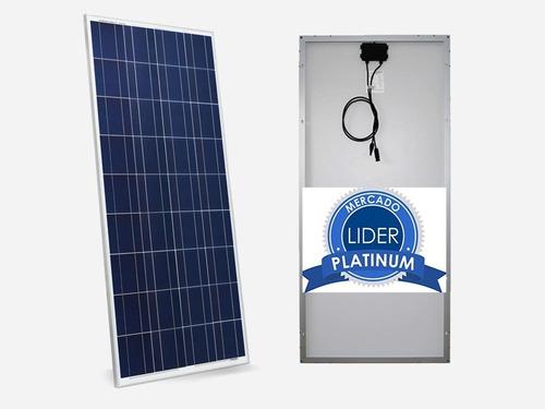 Painel Placa Célula Energia Solar Fotovoltaica 150w  Watts
