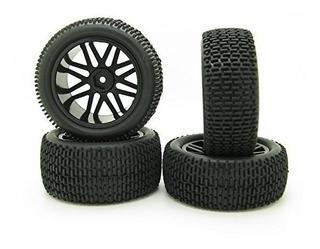 Rc 110 Offroad Car Buggy Rubber Tyre Tire Y Wheel Rim Hex