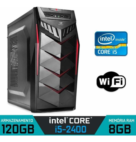 Computador Intel Core I5-2400 Ram 8gb Ssd 120gb