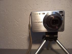 Câmera Digital Sony Dsc W120 + Tripe R$ 69