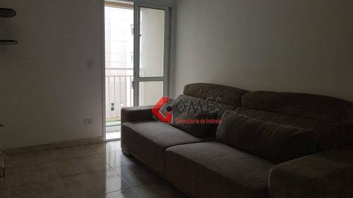 Apartamento Com 2 Dormitórios À Venda, 52 M² Por R$ 260.000,00 - Baeta Neves - São Bernardo Do Campo/sp - Ap2868