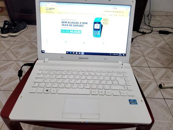 Notbook I3 Samsung Win10 4gb De Ram Hd500gb 14 Pol Branco