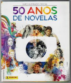 2015 Álbum De Figurinhas 50 Anos De Novelas Panini Completo