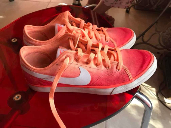 Zapatillas Nike Mujer Rosa Fluor