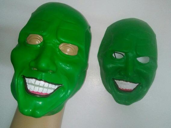 Mascara De Latex La Mascara Color Verde Oferta Halloween