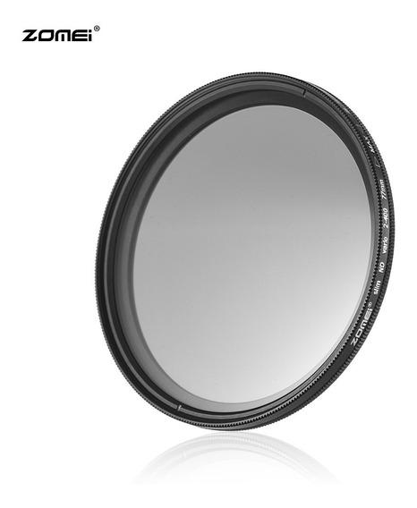 Zomei 77mm Ultra Slim Variável Fader Nd2-400 Densidade Neutr