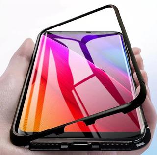 Case Bumper Alumínio Magnético Samsung J8 2018 De Alumínio
