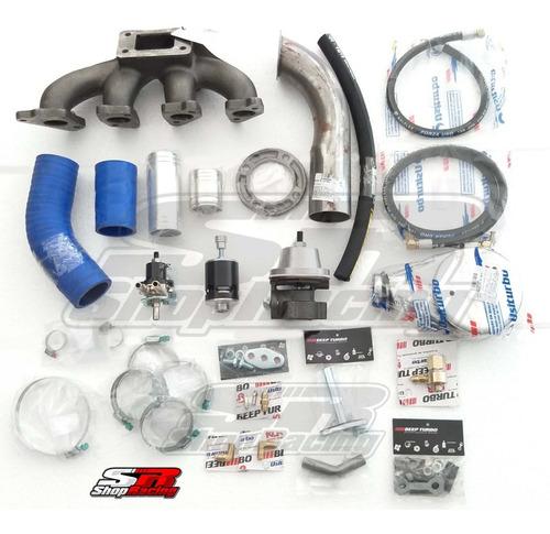 Kit Turbo Gm Chevette T3 Mangotes Silicone Beep Turbo