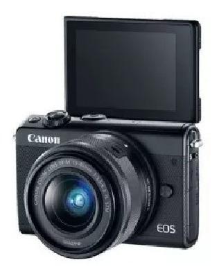Câmera Canon Eos M100 Kit 15-45mm - Original Com Nota Fiscal