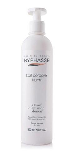 Leche Corporal Byphasse Nutritiva Aceite De Almendra 500ml