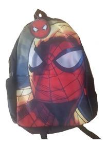 Spiderman Mochila Escolar Primaria Reforzada