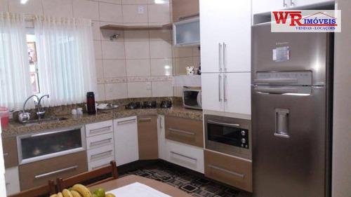 Imagem 1 de 30 de Casa À Venda, 192 M² Por R$ 742.000,00 - Cidade São Jorge - Santo André/sp - Ca0346