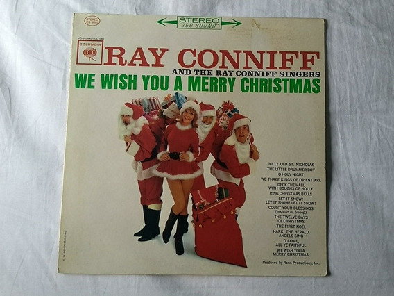 Lp We Whish You A Merry Christmas Ray Conniff Singers