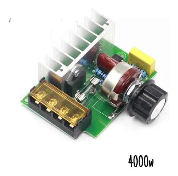 Dimmer Regulador De Velocidade 4000w - 110/220v