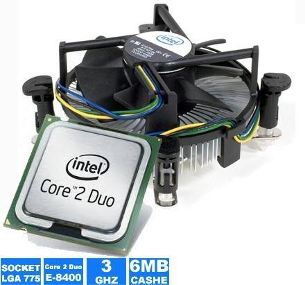 Imagem 1 de 1 de Processador Intel Core 2 Duo 3.0 Ghz E8400 Com Garantia