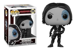 Funko Pop 315 Domino Deadpool - Original - Woopy