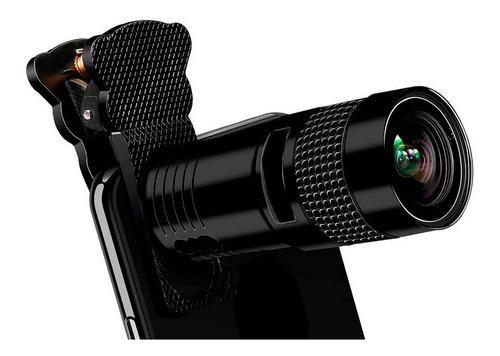 Lente Zoom Luneta Canhao Clip Universal Samsung Smartphone