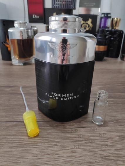 Bentley For Men Black Edition - Decant / Amostra 5ml