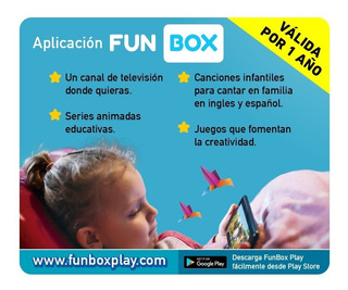 App Infantil Funboxplay Por El Dia Del Niño