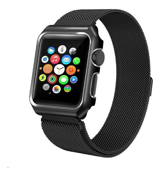 Funda Extensible Milanese Apple Watch Series 123 42mm Metal
