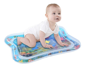 Inflável Bebê Água Mat Infantil Play Mat Toddler Fun