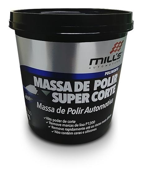 Massa De Polir Super Corte Mills Remove Riscos Base Agua 1kg