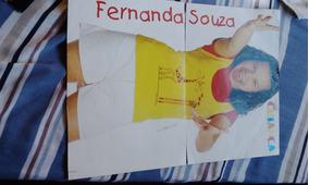 Dois Poster Mili Chiquititas Ano 97 , Fernanda Souza.