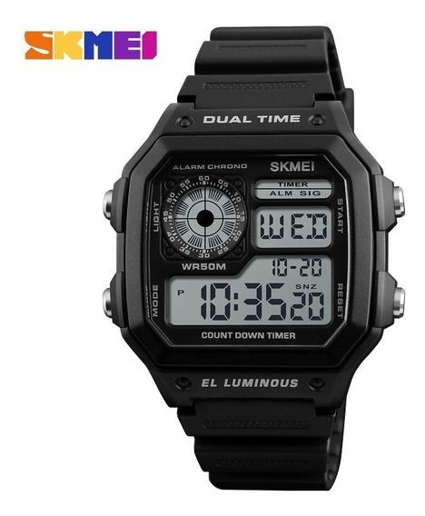 Relógio Masculino Skmei 1299 Digital Esportivo Prova D
