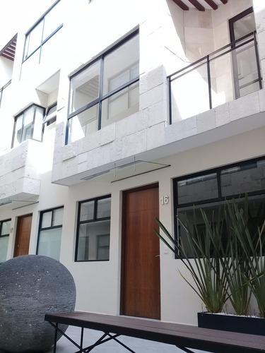 Renta Casa 3 Recámaras, Roofgarden. Del Valle. Benito Juarez
