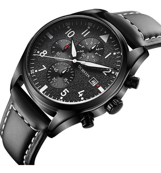 Reloj Hombre Ochstin Luxury 2017, Con Caja No Subasta