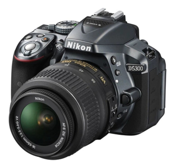 Nikon D5300 Com Lente 18-55mm - Usada.