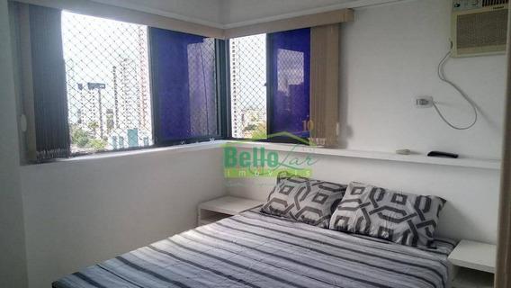 Apartamento Para Alugar, 63 M² Por R$ 2.400,00/mês - Rosarinho - Recife/pe - Ap1070