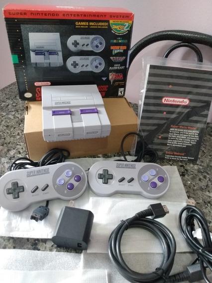 Snes Classic Edition Mini Original Nintendo Com 180jogos