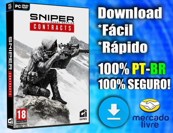 Sniper Ghost Warrior: Contract - Pc - Completo Em Português!