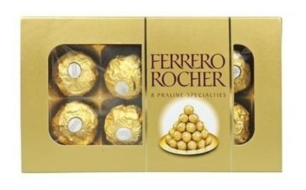 Bombonera Ferrero Rocher 8 Uni