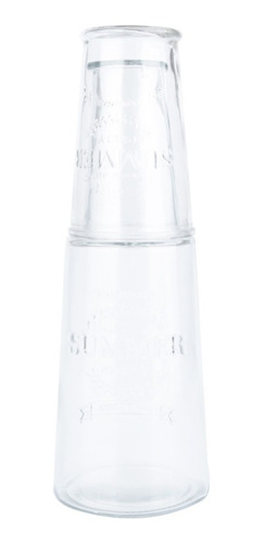 Imagem 1 de 3 de  Garrafa De Agua Vidro Transparente 12x S/ Juros