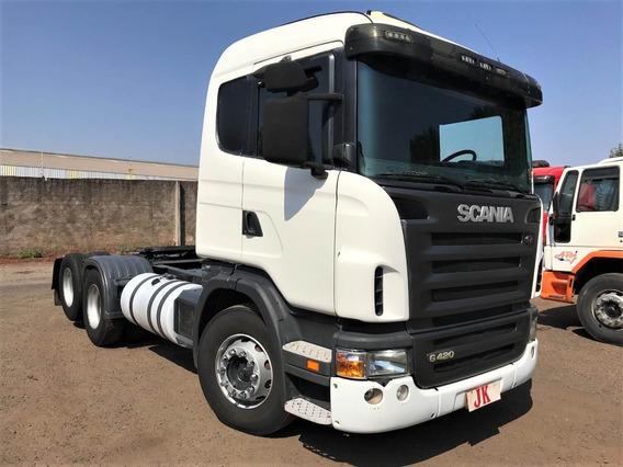 Scania G-420 Ano 2009 6x2