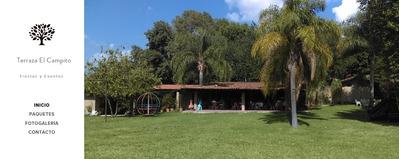 Terraza Para Eventos En Gdl Jardines De La Paz Servicio De