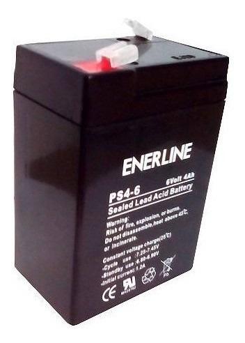 Bateria 6v 4ah Ps4-6 Enerline