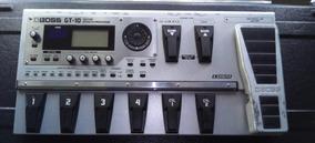 Pedaleira (processador De Efeitos) Para Guitarra Boss Gt-10