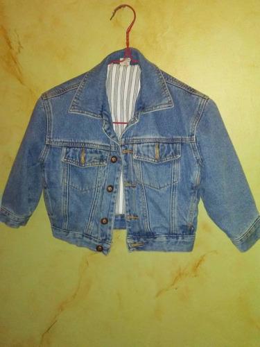 Chaqueta Blue Jeans Niños Talla 3