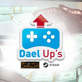 Grand Theft Auto V Pc - Dinheiro E Level 20 Bi , Brinde 2 B