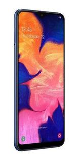 Sm-a105mzbkzto Telefone Celular Samsung A105m Galaxy A10 32 Gb Azul