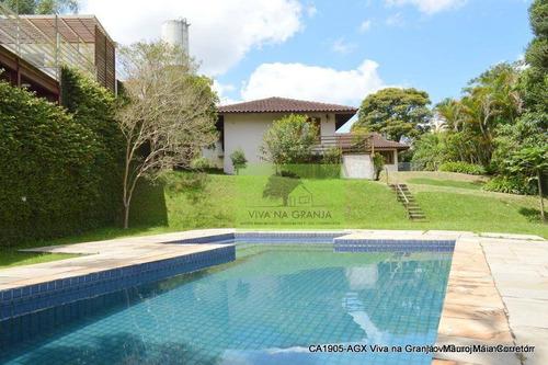 Casa Com 3 Dormitórios À Venda, 304 M² Por R$ 1.495.000,00 - Granja Viana - Carapicuíba/sp - Ca1905